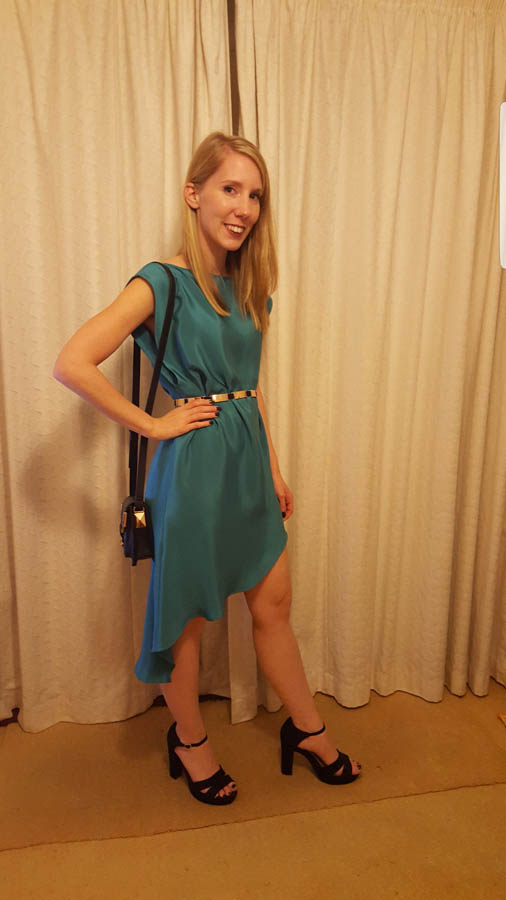Rhiannon green dress