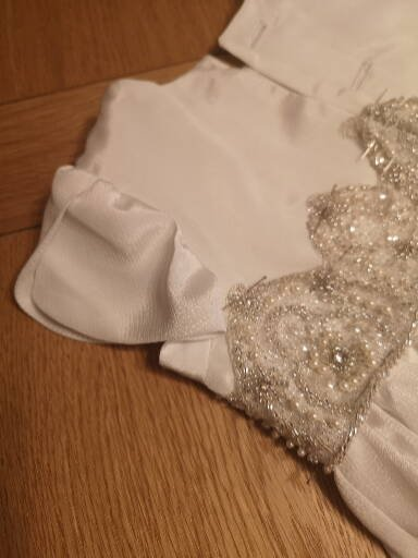 details of emma christening gown