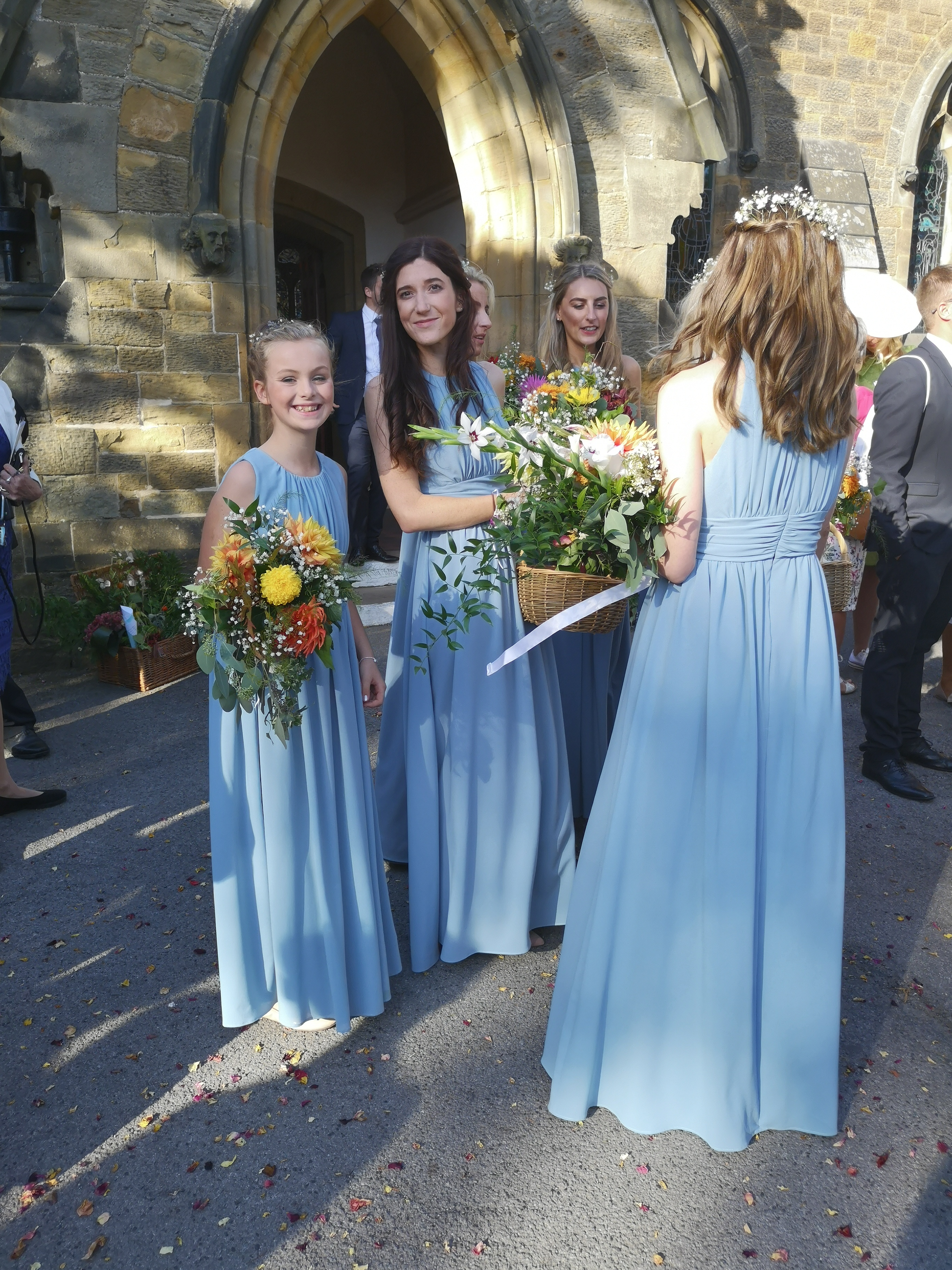 all bridesmaids